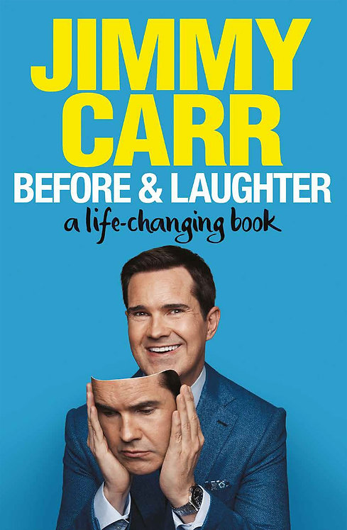 Jimmy Carr: Before & Laughter - SIGNED 1st edition !