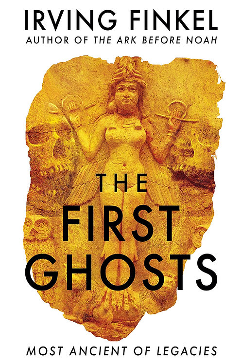 PRE-ORDER The First Ghosts - with SIGNED bookplate - out 11/11
