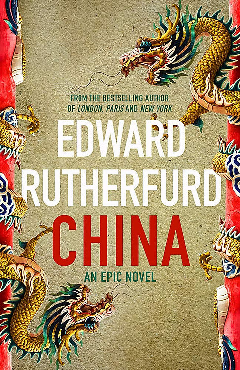China - with SIGNED bookplate 1st edition!
