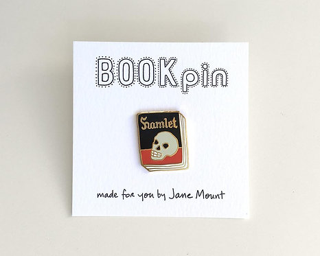 Book Pin: Hamlet