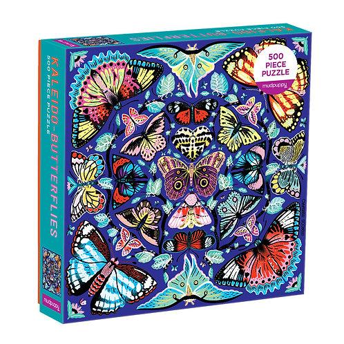 Kaleido-Butterflies 500 Piece Family Puzzle
