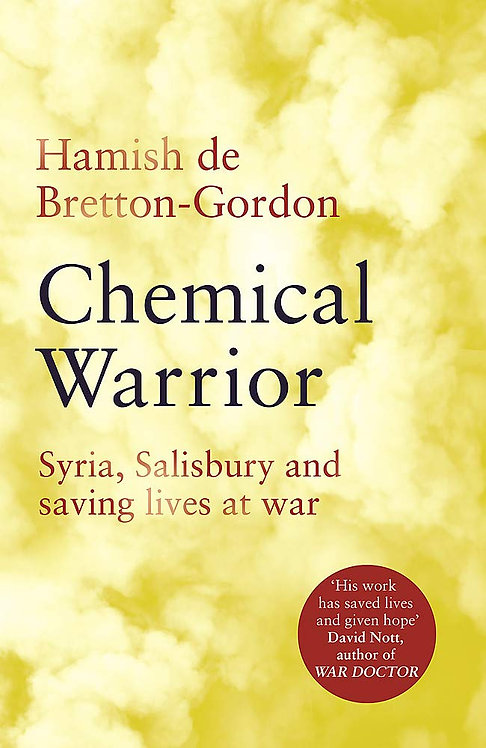 Chemical Warrior SIGNED FIRST EDITIONS