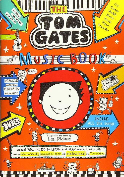 Tom Gates: Music Book- with SIGNED postcard!