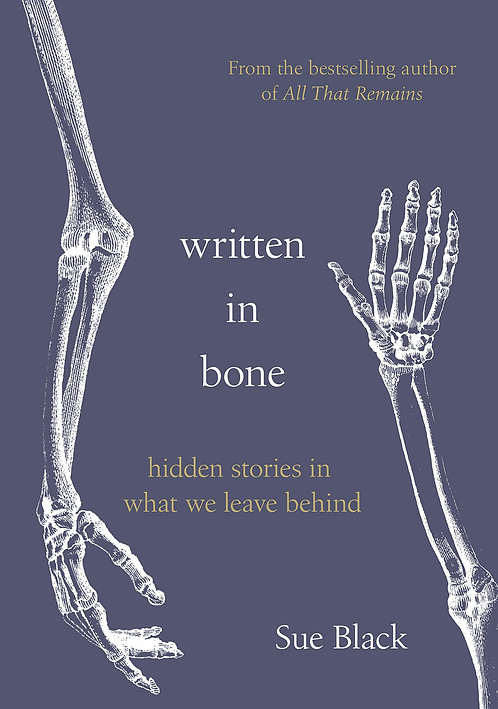 Written In Bone - with SIGNED bookplates!