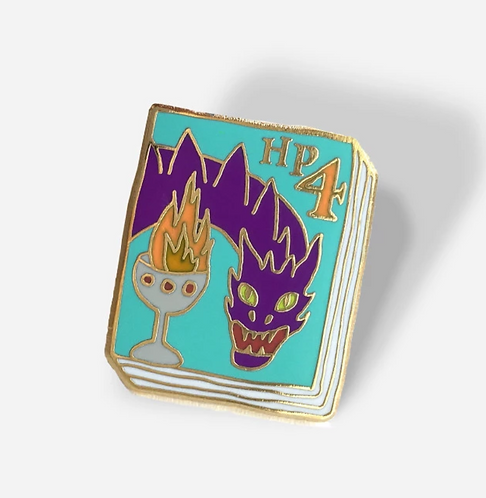 Book Pin: Harry Potter and the Goblet of Fire