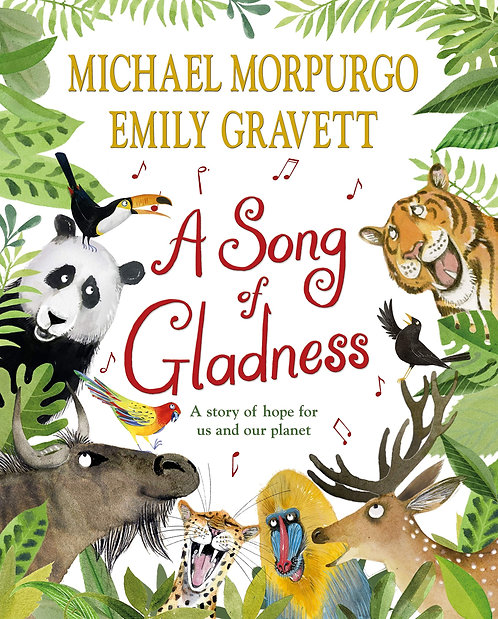 A Song of Gladness - with SIGNED bookplate!
