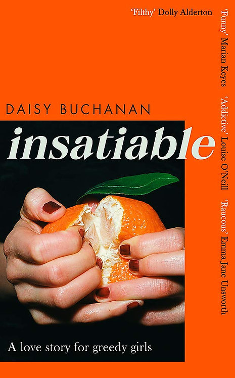 Insatiable - SIGNED FIRST EDITIONS!