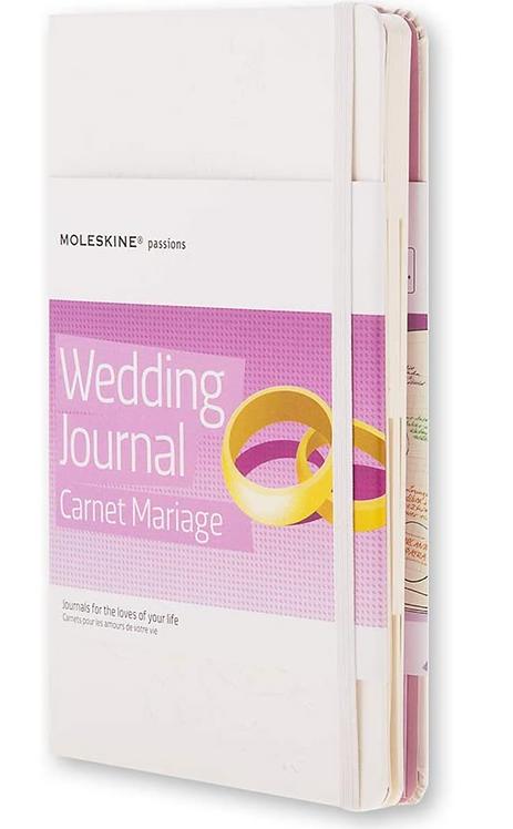 Moleskine Passions Wedding Journal - White