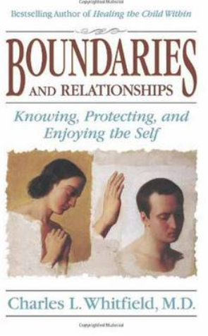 Cover of Charles Whitfield's book, Boundaries and Relationships