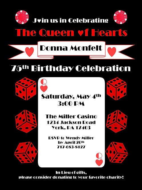 Casino Themed Invitations (25 Ct.)