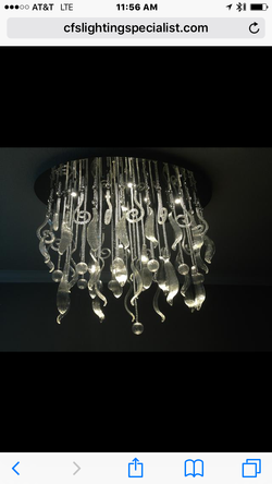 LED Interior Chandeliers