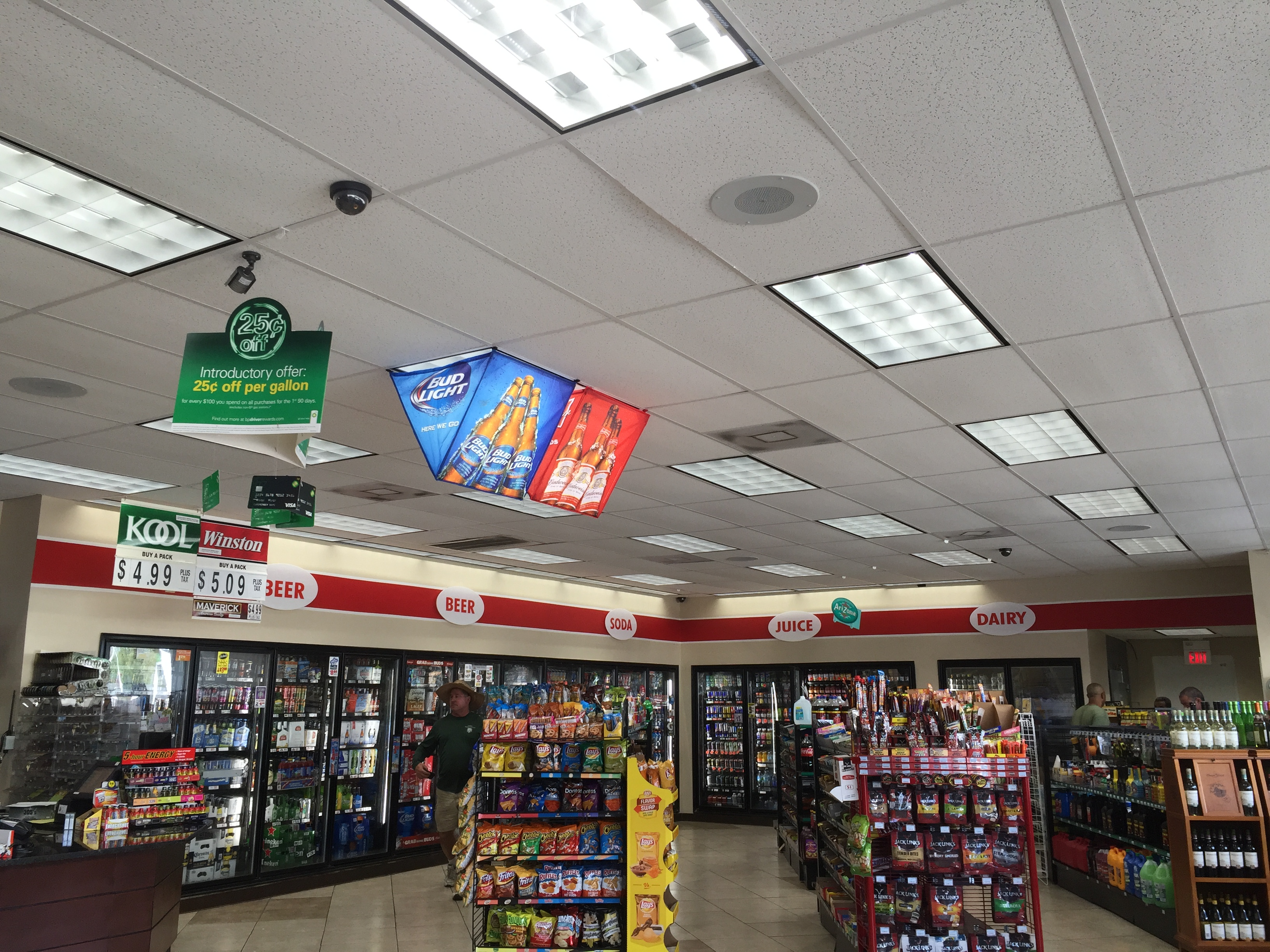 Commercial Gas Station LED Lighting
