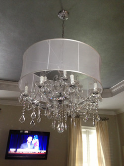Assemble and Install Chandelier