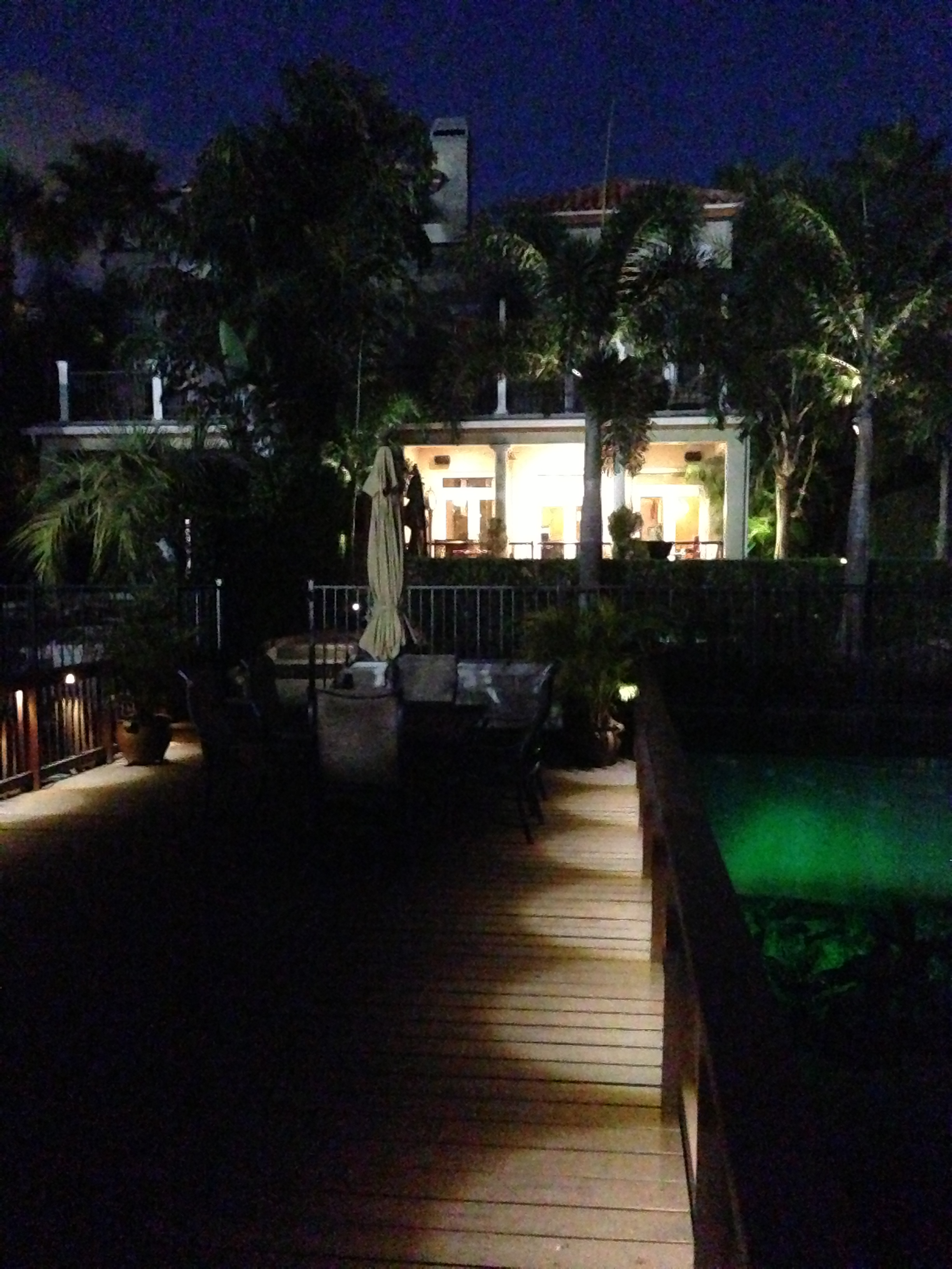 Exterior colored LED Boat Lighting