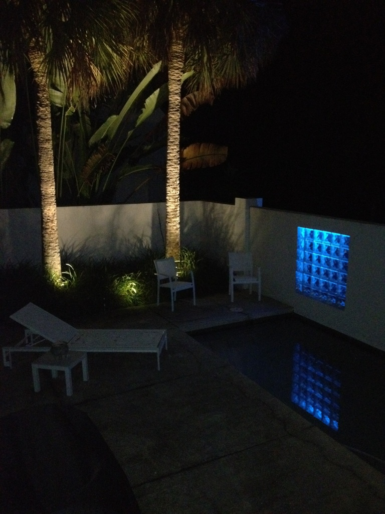 LED Colored Landscape Lighting