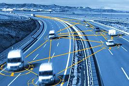 Driverless cars on motorway.jpg