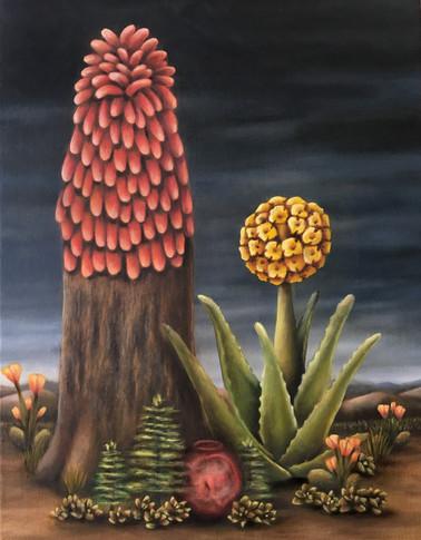 "Eva Allan. Oil on Canvas, 21"" x 16"", 2019. (Commission Piece)"