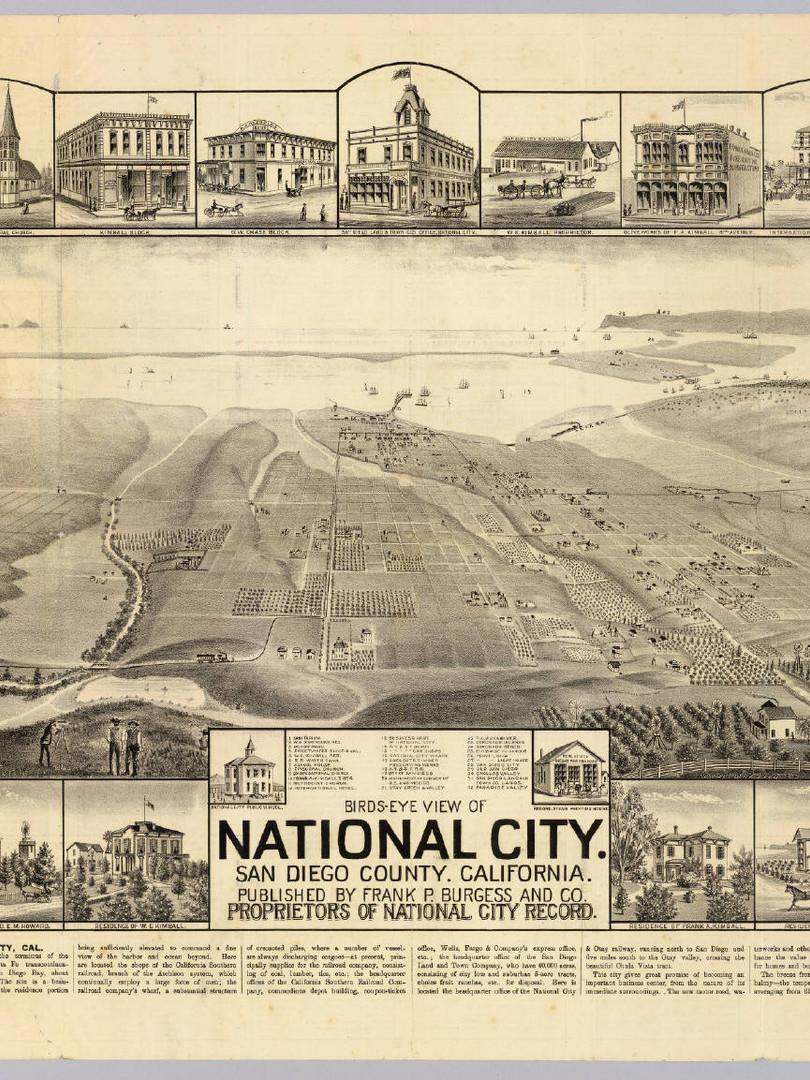 National City, San Diego Co.