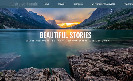 illustrated domain Our Site