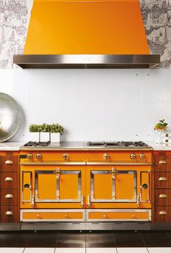 la-cornue-orange-gas-cooker-