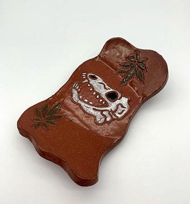 Megan Caldwell-Lizard Skull Tray
