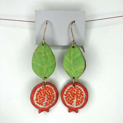 Pomegranate Earrings 8