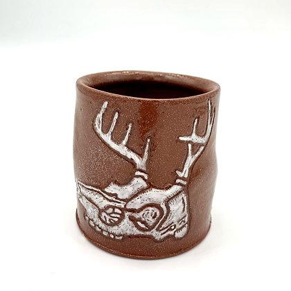 Megan and Ryan  Caldwell Collab - Deer Skull Mug