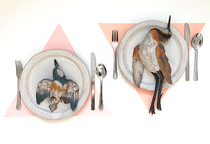 The Dinner Party (With Belted Kingfisher