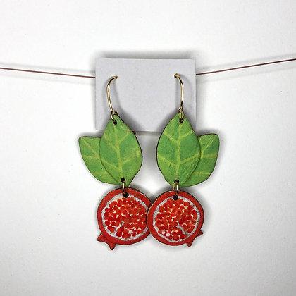 Pomegranate Earrings 4