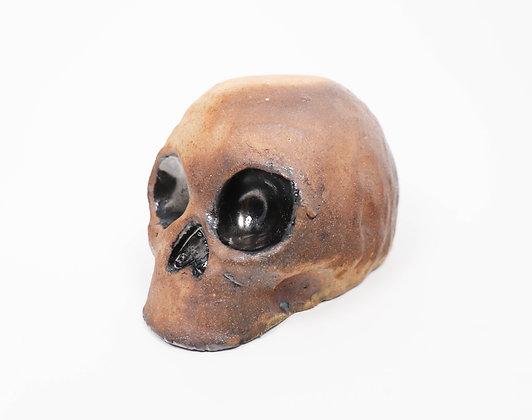 Wood fire Skull bowl