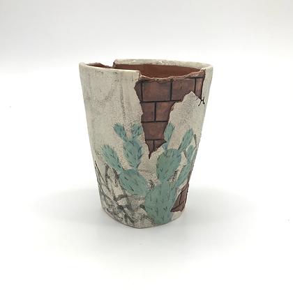 Krissy Ramirez - Blue Prickly Cup