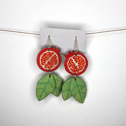 Pomegranate Earrings 1