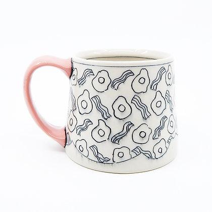 Bri Larson - Eggs and Bacon Mug