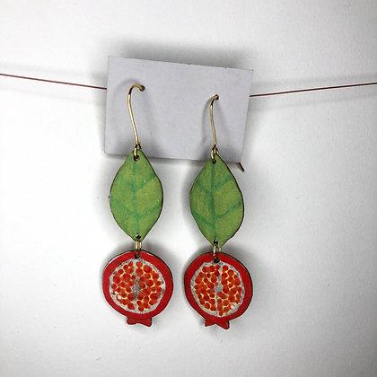 Pomegranate Earrings 6