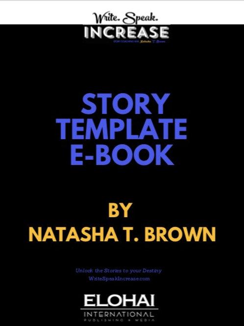 Story Template E-Book