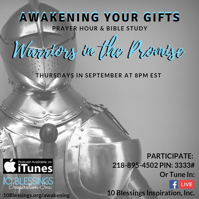 Awakening Your Gifts Prayer Strategy Hour