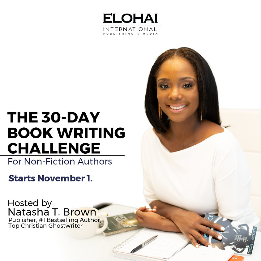 30-Day Book Writing Challenge Mid-Challenge Check-In