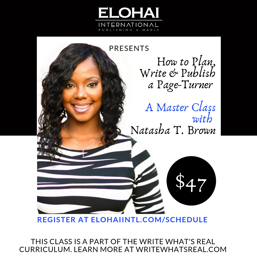 Virtual Course: How to Plan, Write & Publish a Page-Turner