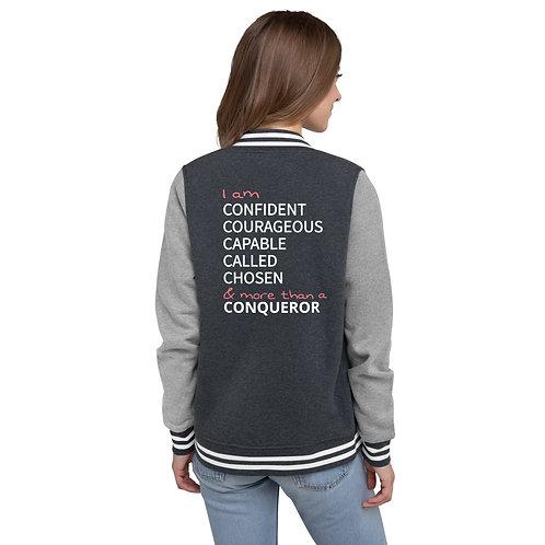 Confident Women's Letterman Jacket