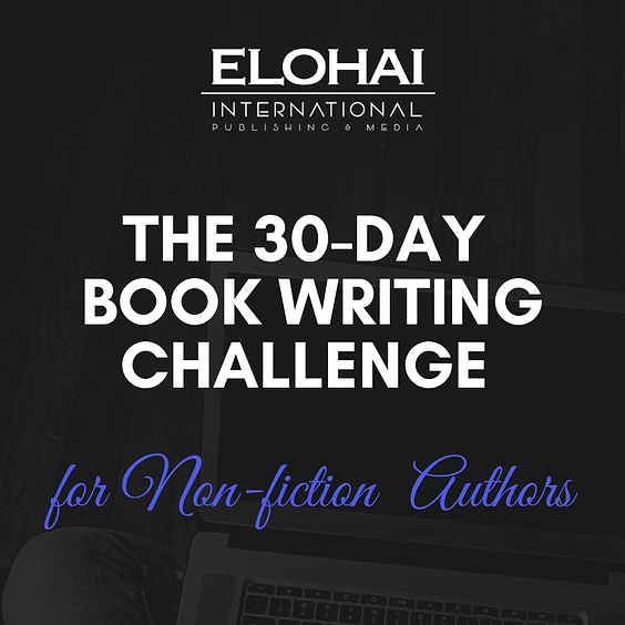 The 30-Day Book Writing Challenge