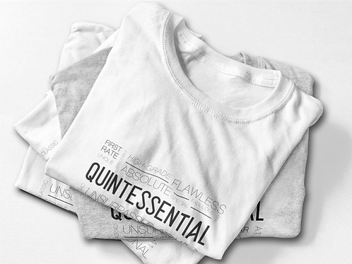 Quintessential Synonyms Tee