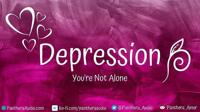 Depression - You're Not Alone