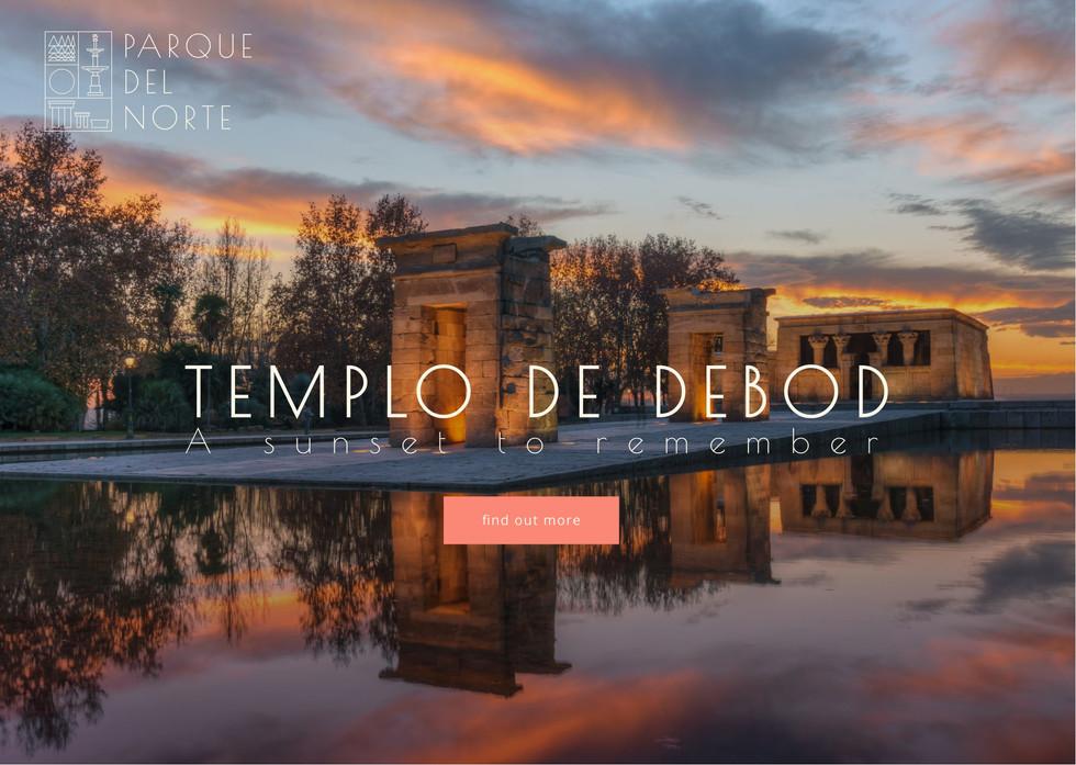 Templo De Debod Promotional Material