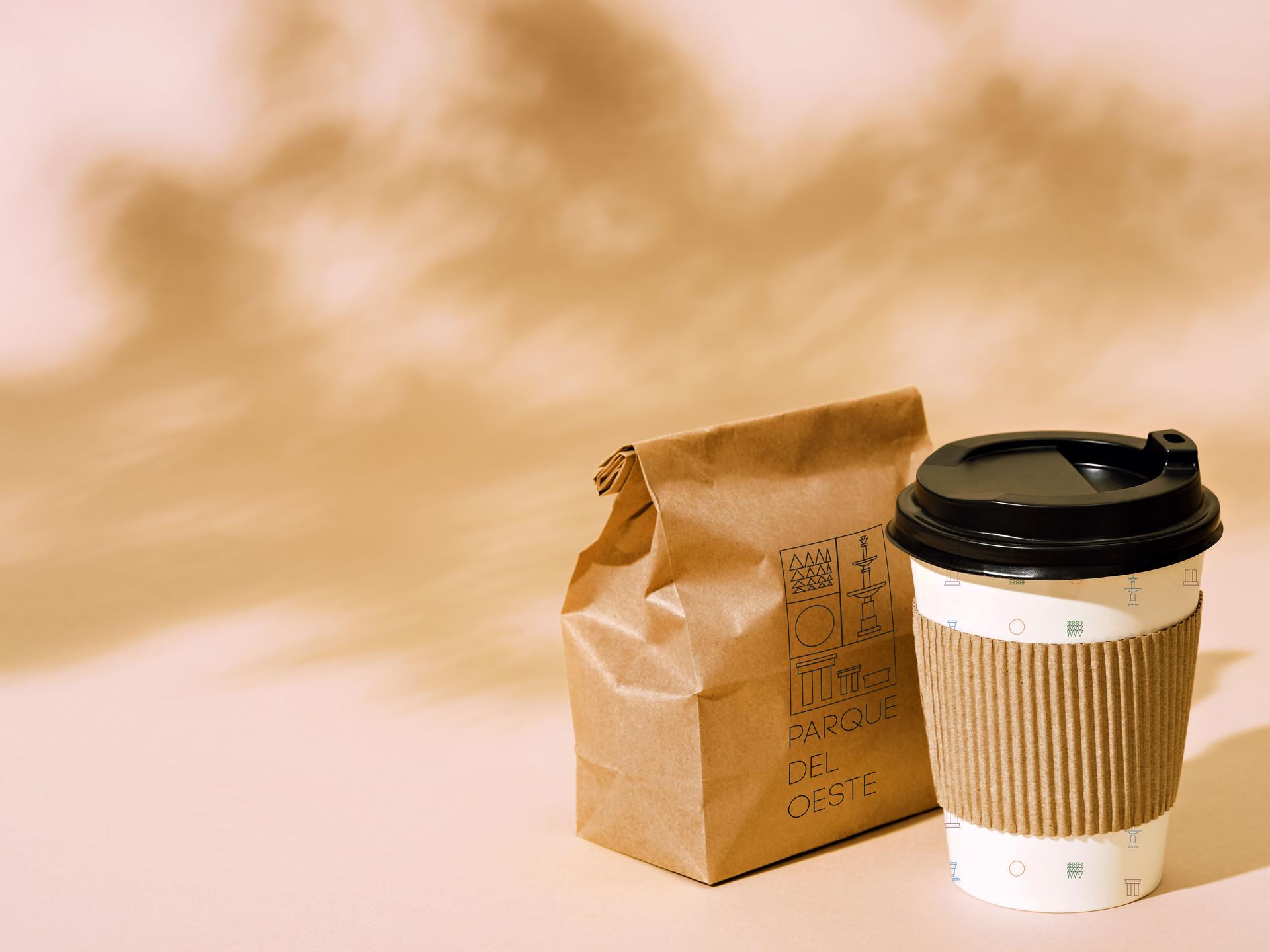 Cafe packaging design