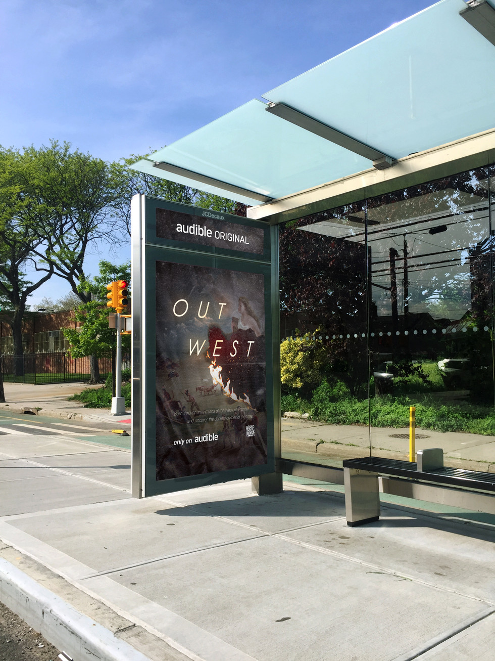 Bus Shelter ad visualisation