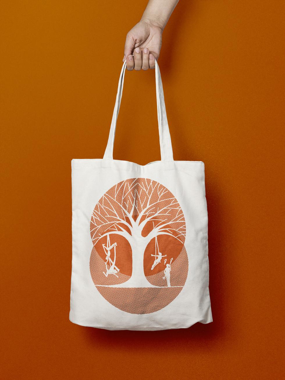 Canvas tote bag visualisation