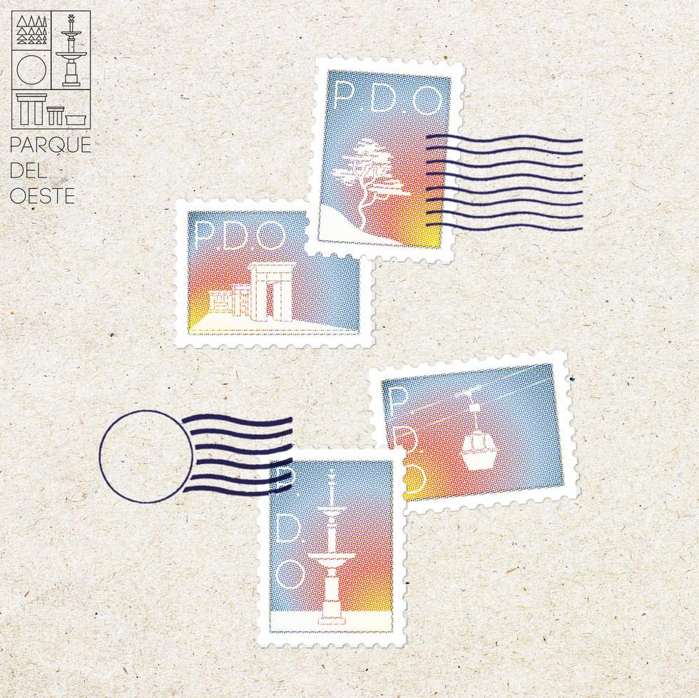 Stamp mockups