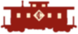 Caboose Industries logo, a red caboose with C and I inside a diamond