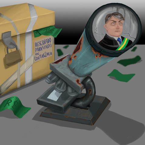 Bolsonaro faz corte ilegal de R$ 5 bilhões em pesquisas científicas