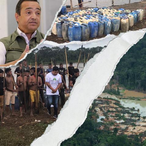 Violência na Terra Yanomami une o garimpo ao crime organizado
